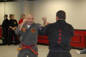 Shihan Nesta teaching martial arts fighting principles