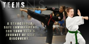 Martial Arts for Teens programs