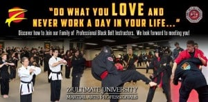 Learn more about our martial arts instructor academy