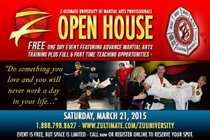 Z-Ultimate Martial Arts Instructor University