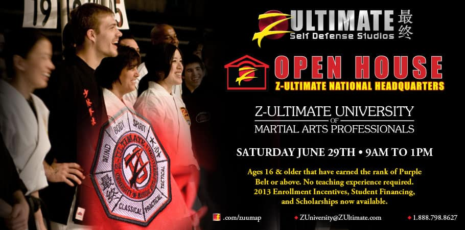 How to Become a Z-Ultimate Black Belt Instructor