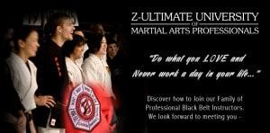 Z-Ultimate University of Martial Arts Professionals Martial Arts Academy Utah