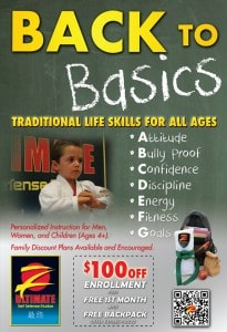 Back to School is perfect time to start Martial Arts Classes