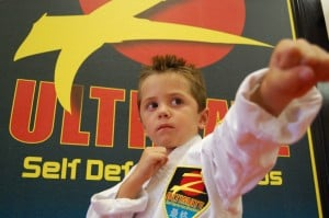 Future leader training in the martial arts