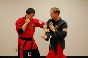 Advanced martial arts training