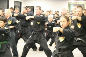 Group Martial Arts Training