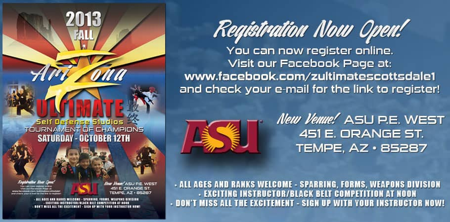 Z-Ultimate Arizona Fall 2013 Martial Arts Tournament