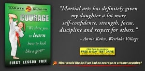 Martial Arts Courage