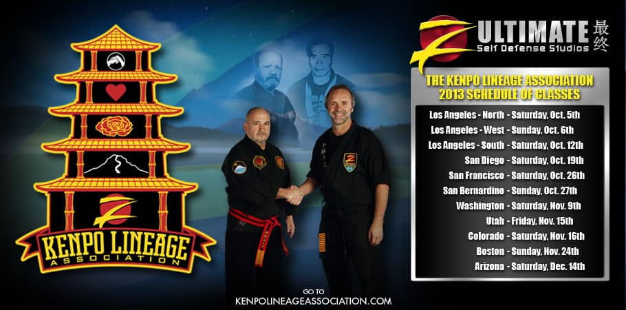 Kenpo Lineage Association