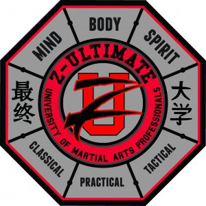 ZUUMAP Black Belt Martial Arts Undergraduate Patch