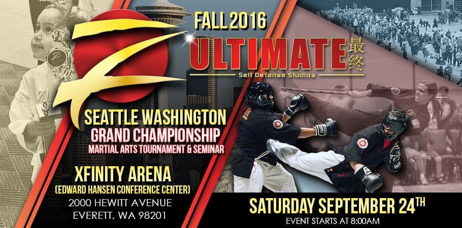 Pacific Northwest Karate Tournament Fall 2016