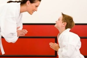martial arts teaches respect