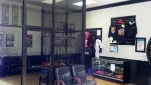 martial arts school lobby