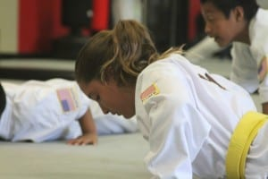 children building stronger bodies through martial arts