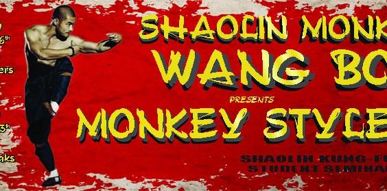 Wang Bo Shaolin Monkey Seminars
