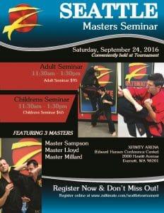 Masters Seminar Seattle WA