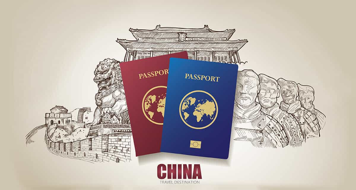 online visa application form to china