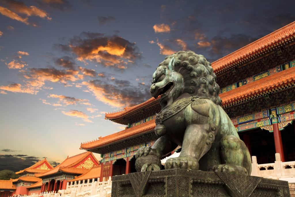 Fu Dog at Forbidden City v1