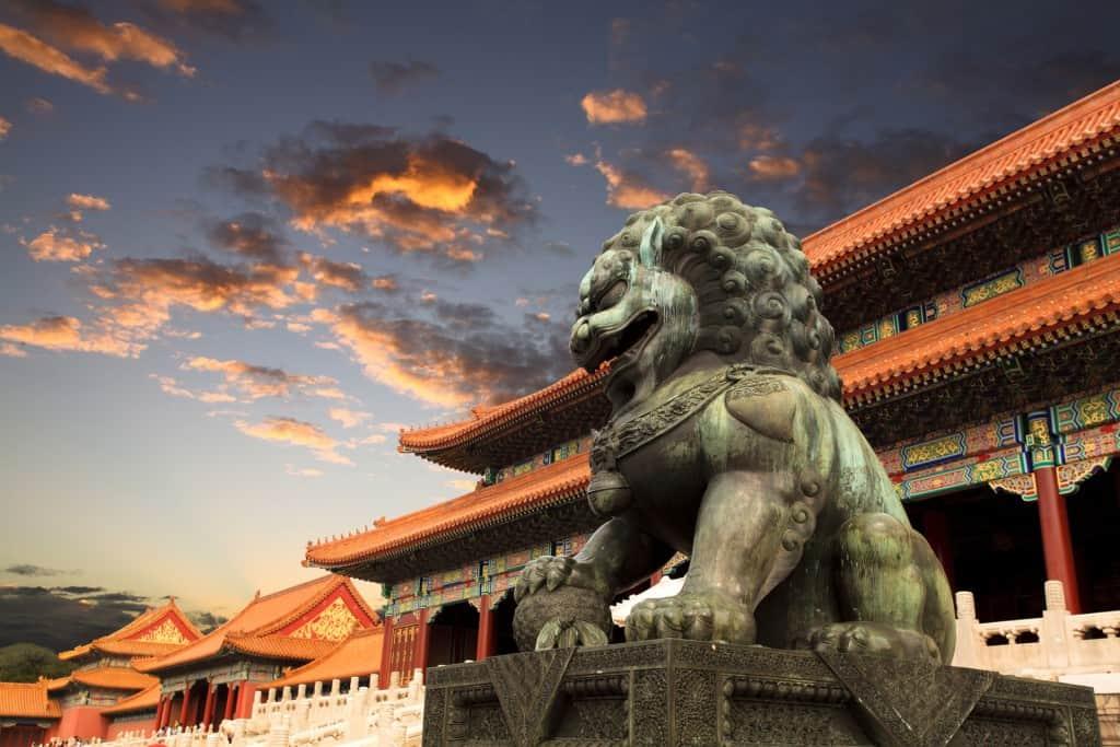 Fu Dog at Forbidden City v1