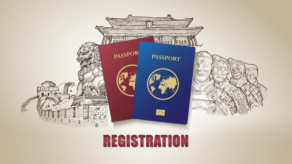 China Tour Passports