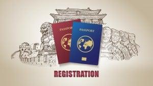 China Tour Passports