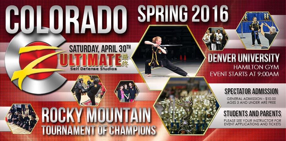 Z-Ultimate Self Defense Studios Colorado Spring 2016 Tournament