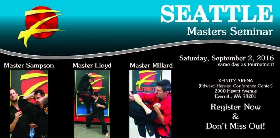 Seattle Masters Martial Arts Seminar