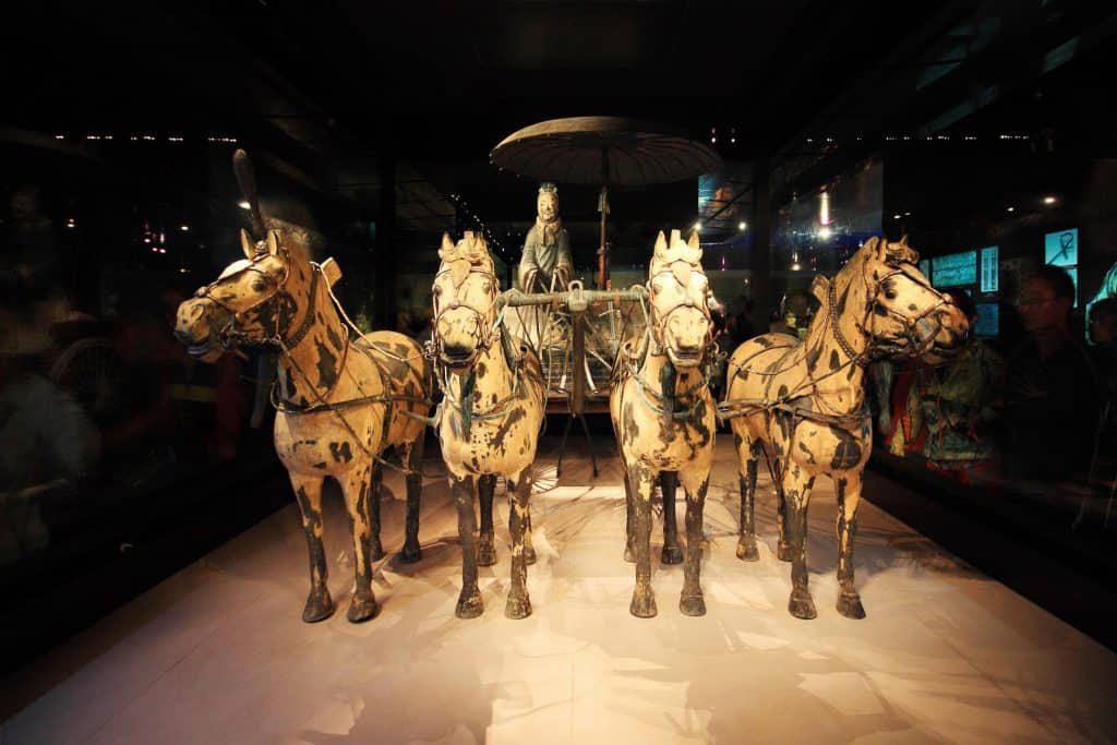 Terracotta Warrior chariot & horses