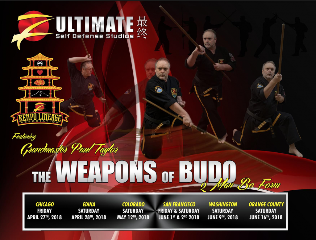 Register for Weapons of Budo Seminar