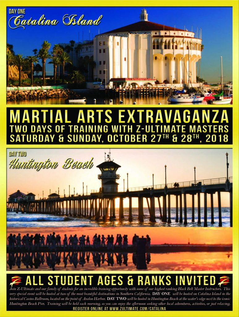 Join us for the martial arts extravaganza