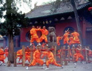 Training with Shaolin Monks