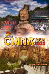 China Tour 2020 Poster
