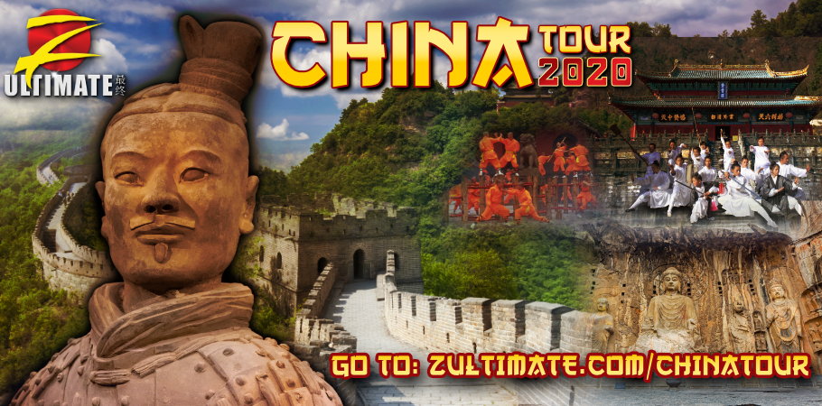 Banner for the 2020 Z-Ultimate Trip to China