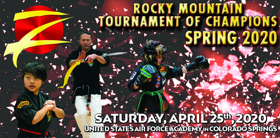 Poster of Z-Ultimate Rocky Mountain Martial Arts Tournament Spring 2020